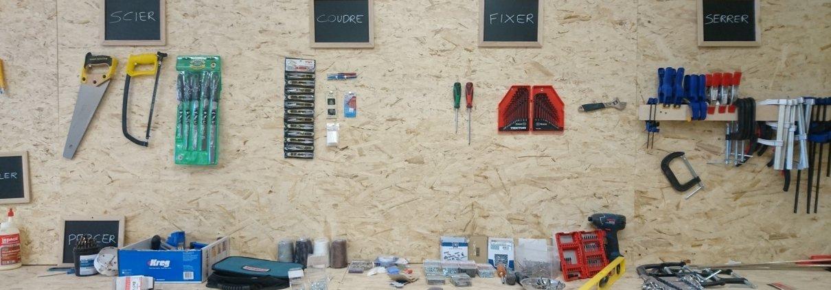 outils et atelier bricolage Montréal