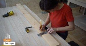 Tutoriel : Fabriquer une étagère simple décorative - Étape 2
