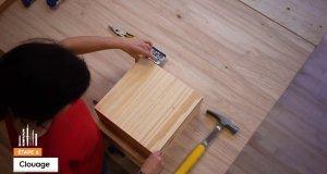 Tutoriel : Fabriquer une étagère simple décorative - Étape 6