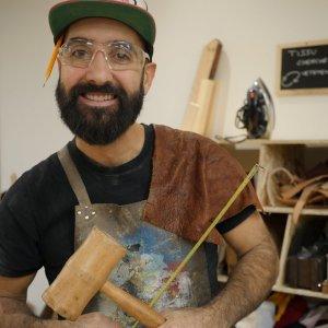 Pier-Vincent ateliers cuir Les Affûtés